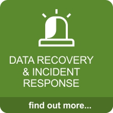 data recovery and incident response
